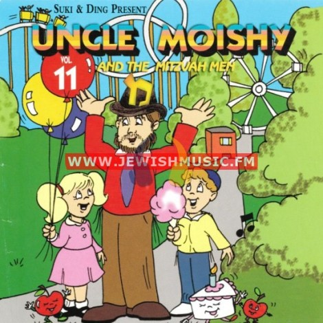 Uncle Moishy & The Mitzvah Men 11