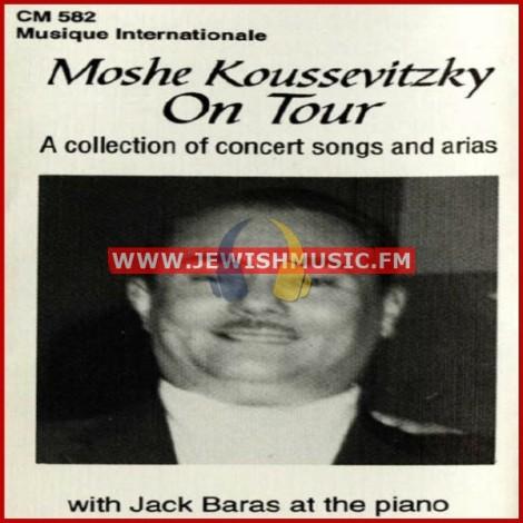 Moshe Koussevitzky On Tour