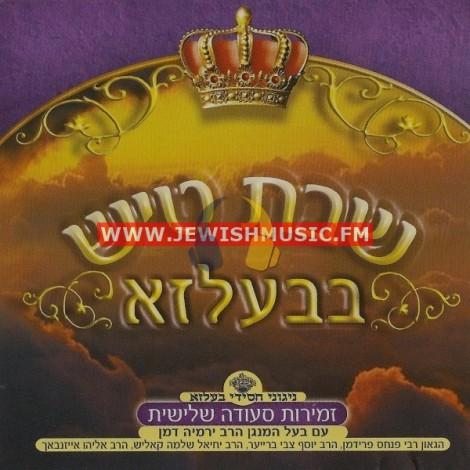 Shabbos Tish In Belz CD5