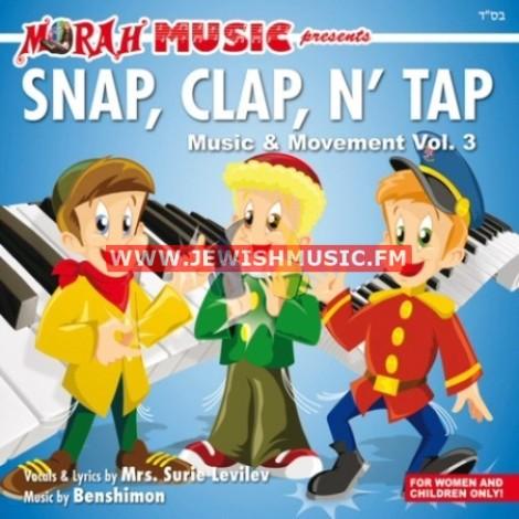 Music & Movement 3 – Snap, Clap, N' Tap