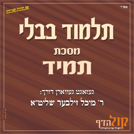 Gemara Tamid – Yiddish