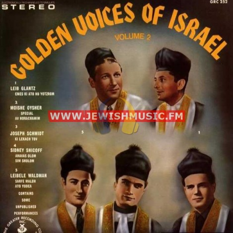 Golden Voices Of Israel 2