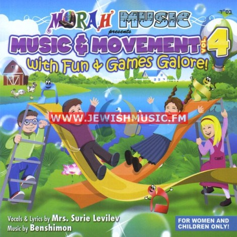 Music & Movement 4 – With Fun & Games Galore
