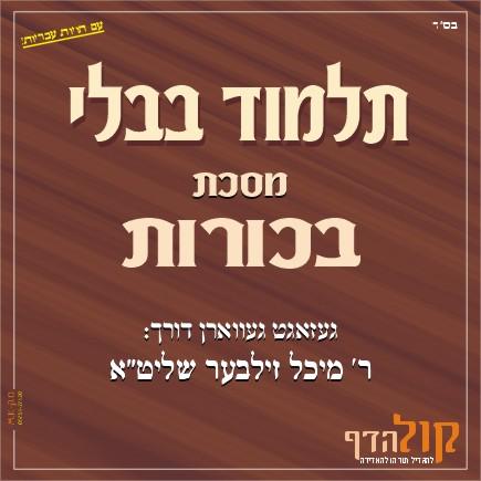 Gemara Bechoros – Yiddish