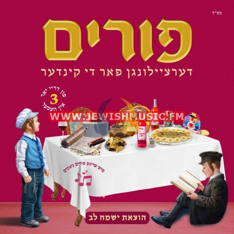 Dertzeilungen Far Di Kinder – Purim