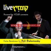Live With Yidi Bialostozky