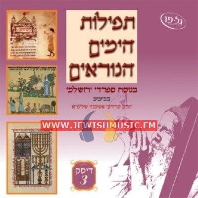 Tefilat Ha-Yamim Ha-Noraim CD3